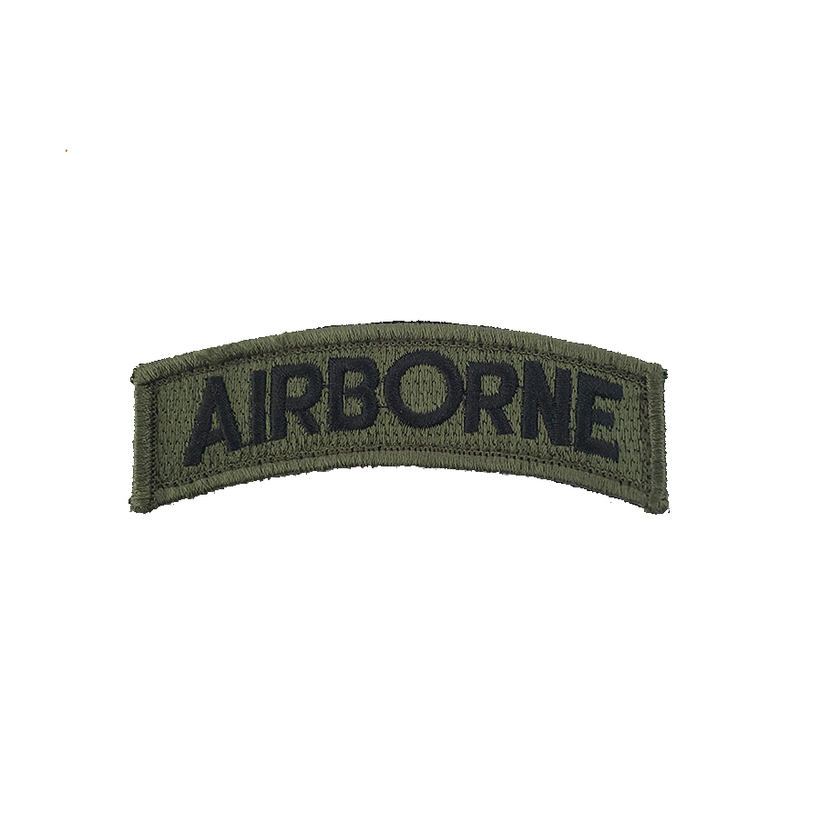 Airborne Skulder patch