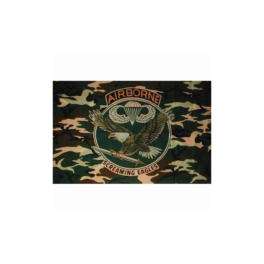 Airborne Screaming Eagle -Flag